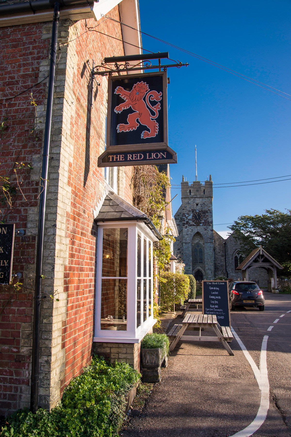 The Red Lion Freshwater, Isle of Wight, Picture Gallery